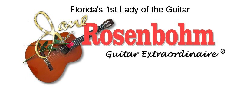 Jane Rosenbohm – Guitar Extraordinaire